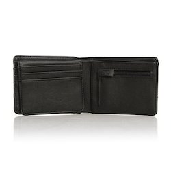 Bifold Velcro Leather Wallet