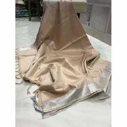 Ladies Casual Wear Cotton Sarees, Length: 6.3 m