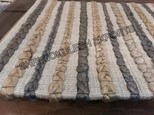 Sge Rectangular Woolen Braided Rug Rs