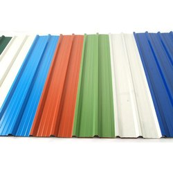 Bhushan Aluminium Colored Coated Roofing Sheet