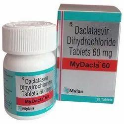 Daclatasvir Dihydrochloride Tablets, 1x28, Mylan