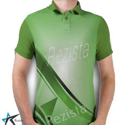 3ed31b12 Polyester Light Green Sublimation Sports T-Shirt, Rs 400 /piece | ID ...