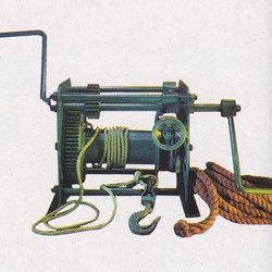 Manually operated Crab Winch