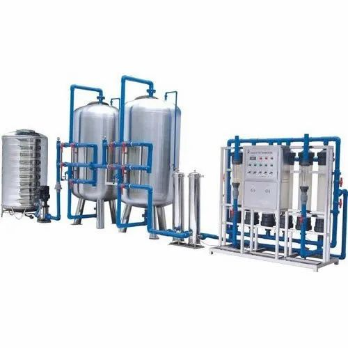 Automatic Industrial Mineral Water Plant, Purification Capacity: 2000 LPH