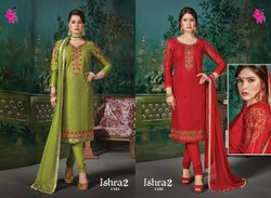 Ishara 2 Unstitch Khushika Designer Unstitched Suits