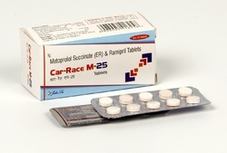 Ramipril 2.5 Mg Metoprolol 25 Mg Tablets