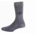Men Formal Socks Full Leg Grey