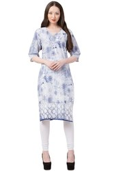 VFLK-43 Daily Wear Printed Kurti in Jaipuri Print