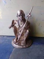 Kanchi Maha Periyava Panchaloham 12 Inch