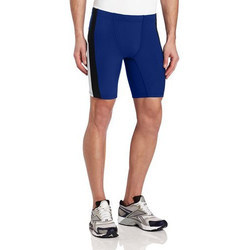 45393e1195 Blue Men's Cycling Compression Half Tights, Rs 499 /piece | ID ...