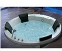 Round Massage Jacuzzi Tub 4 Seater