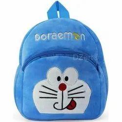 Blue Kids Soft Toy Bag, for College
