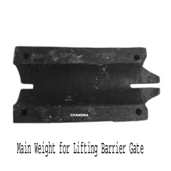Main Weight for Lifting Barrier Gate