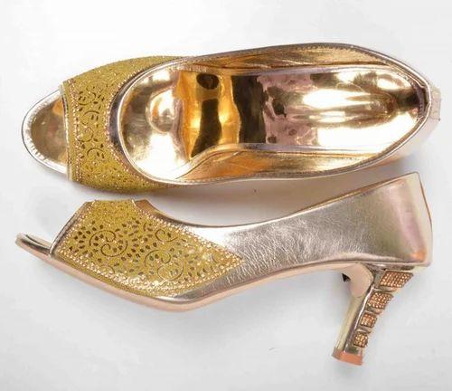 aabfa3161c7b Indian Attitude Designer Pencil Heel Sandal For Women
