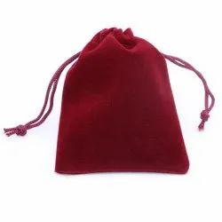 Jewellery Bag Velvet Pouch
