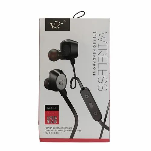 Vali Wireless Stereo Heaphone V26 With Box Packing HE2700/V26