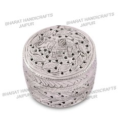 Silver Plated Small Jewellery Box