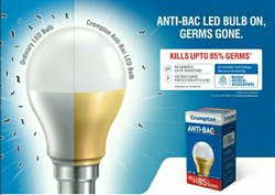 Ceramic Round LED Bulb Anti Bac crompton