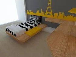 Bedroom 3D Interior Designing