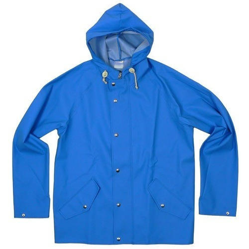 Mens Plain Blue Raincoat, Mens Raincoat - A K Enterprise, Mumbai ...