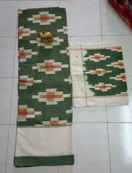 Ikkat Designs Kingsize Bedsheets