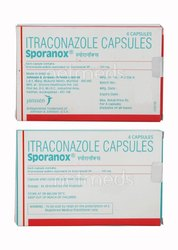 Itraconazole Sporanox 100 Capsule