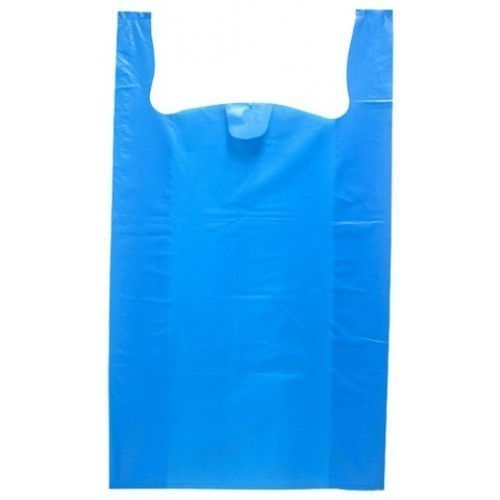 Blue BOPP Plastic Plain Bags, Capacity: 500gm