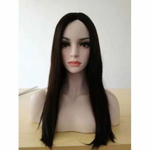 05e98f28b Black Straight Hair Wig, Length: 6 To 15 Inch, Rs 5000 /piece   ID ...