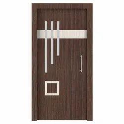 Brown 7 Feet Pine Wood Flush Door