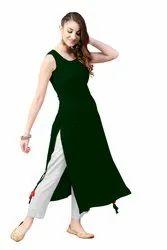 Rayon Party Wear Ladies Designer Kurta