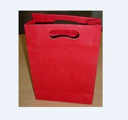 Plain handmade paper bag
