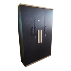 3 Black Wooden Almirah