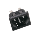 AC Socket For Computer Supply Cord (Snap Type)