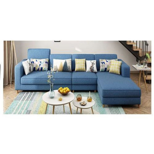 3 Seater Blue Sofa Set
