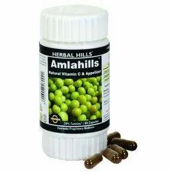 Amlahills Herbal 60 Capsule - Healthy Hair Formula