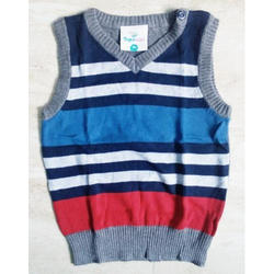 Kids Sleeveless Sweater