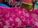 Linen Jamdani Handwoven Sarees