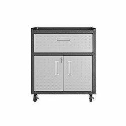 900 Mm SDSE MS Cabinet Trolley, 4