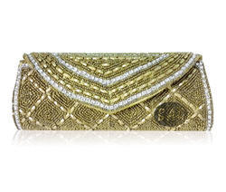 Beaded Clutch Bag