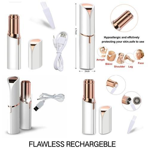 Flawless Hair Remover Razor With Usb Cable Women Body Face