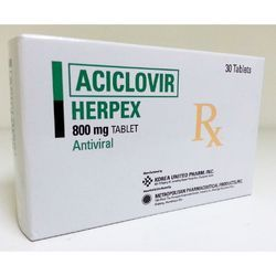 Aciclovir Herpex 800 mg Tablet Antiviral