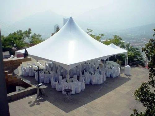 White Pagoda Tent, Size: 20feet X 20feet