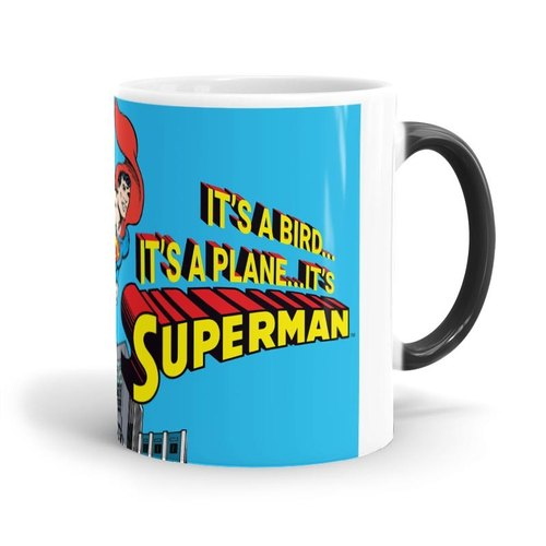 Superman Its Not A Bird Magic Mugs