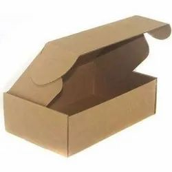 Cardboard Single Wall - 3 Ply Foldable Carton Box, For Packaging, Weight Holding Capacity (Kg): >25 kg