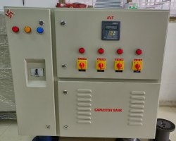 Three Phase L&T 75 Kvar APFC Panel, Automation Grade: Automatic, for Textile