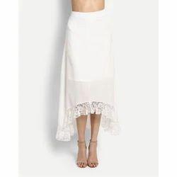 7814044f16 Medium Wrap Fox Georgette Ladies Bottom Wear Western Skirt, Size ...