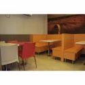 Ergomaxx Red And Off White And Orange Restaurant Furniture
