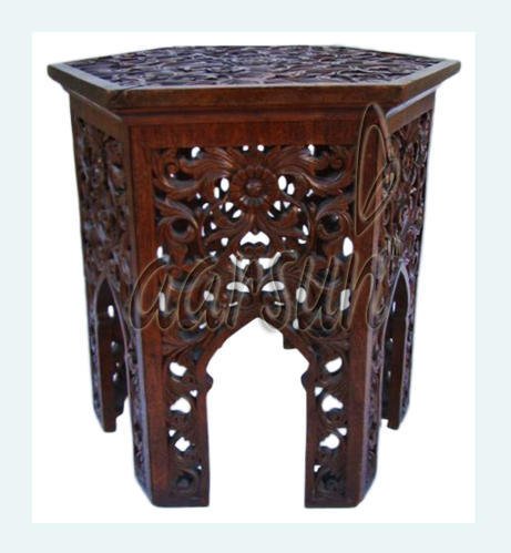 Aarsun Wooden Sides Table, Size/Dimension: 20 X 22 X 30 Inch