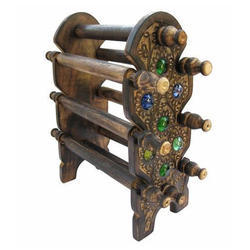 Antique Wooden Bangle Stand