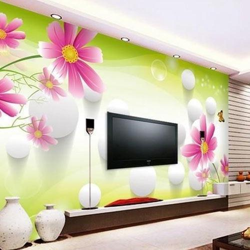 Vinyl Modern Printed 3d Wallpaper Rs 45 Square Feet Ps Icon Decors Id 17999026148